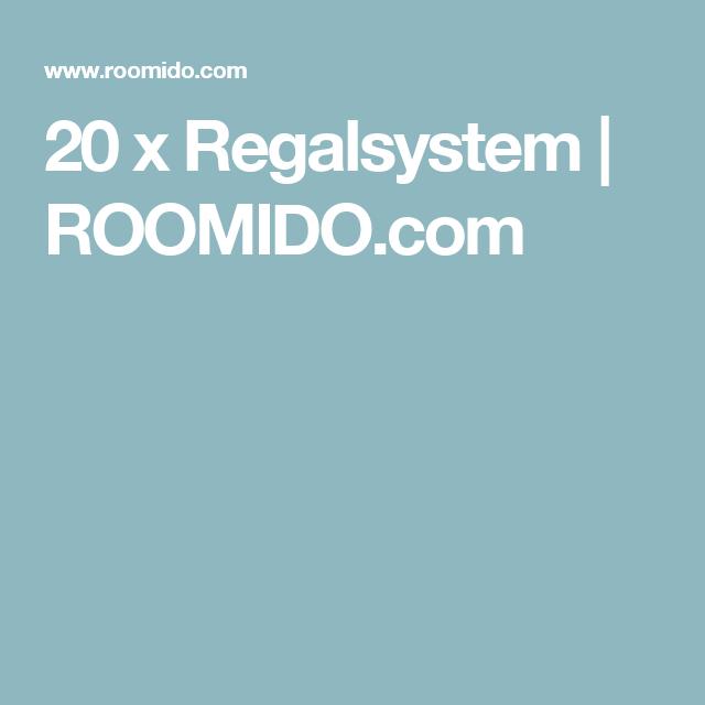 20 x Regalsystem | ROOMIDO.com