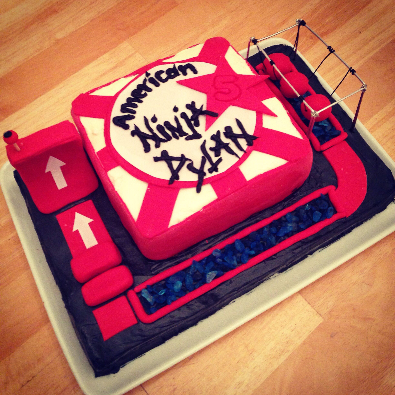 American Ninja Warrior Cake Per My Little Guy S Request