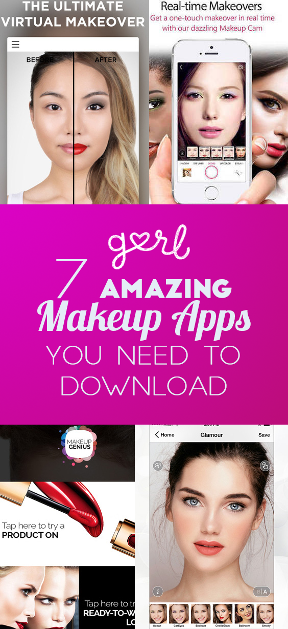 7 Amazing Makeup Apps You Need To Download To Make Beauty Easier