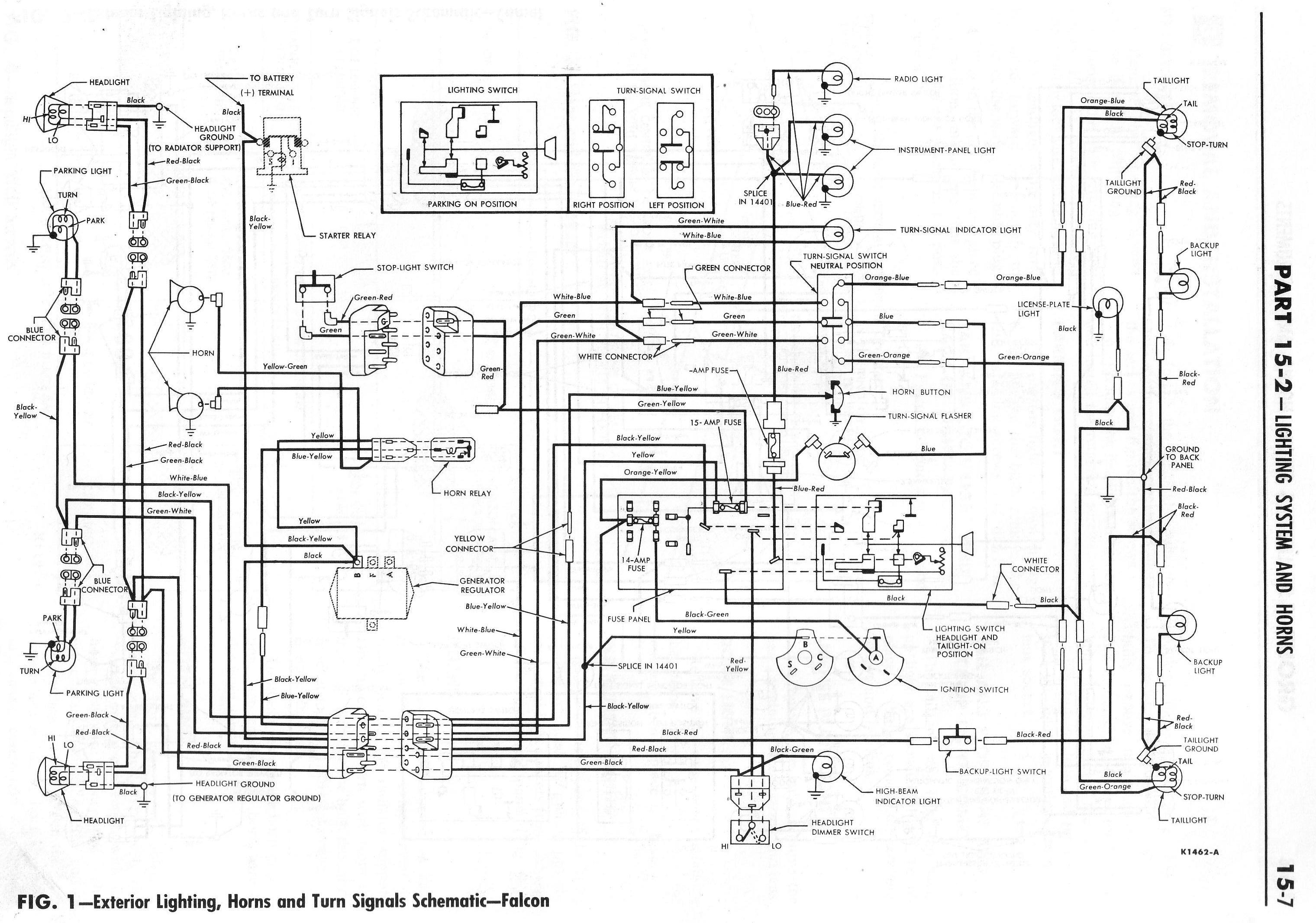 1964 Ranchero Wiring Diagrams   1964 Ranchero Wiring Schematic      Pinterest