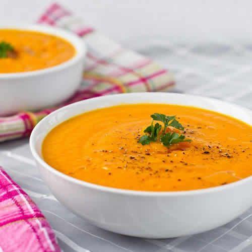 Soupe de carottes thermomix soupe rapide facile et l g re thermomix - Cuisine legere thermomix ...