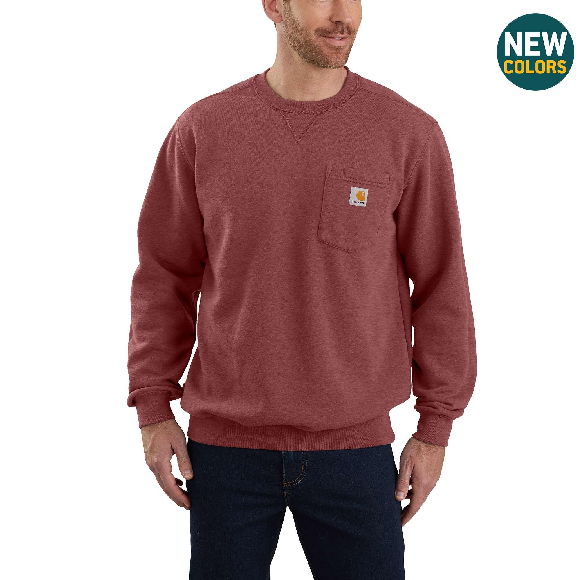 Crewneck Pocket Sweatshirt Pocket Sweatshirt Mens Crewneck Sweatshirt Long Sleeve Tshirt Men [ 2000 x 2002 Pixel ]