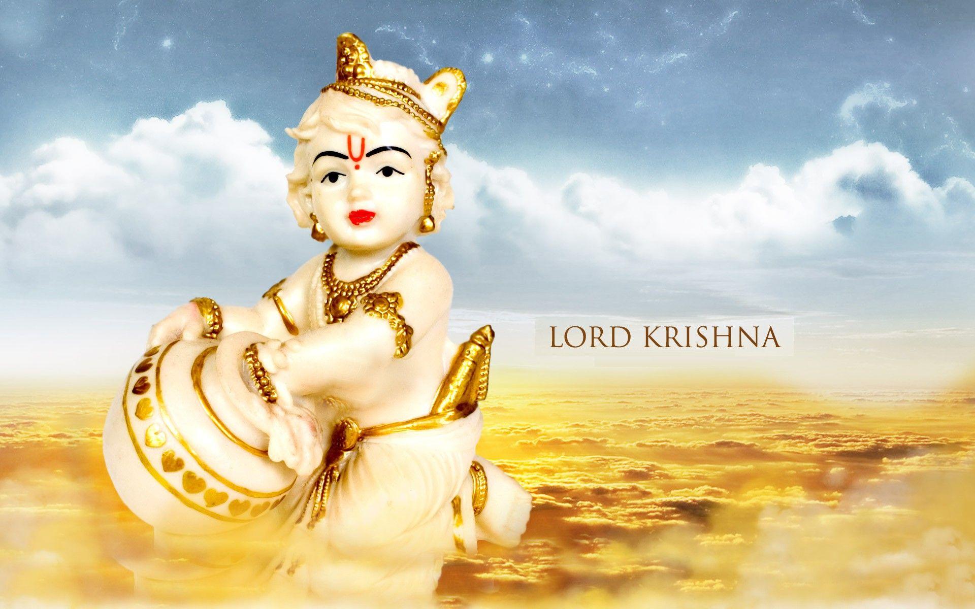 Lord Cute Bal Krishna Hd Wallpaper Download Free 1080p Lord Krishna Wallpapers Lord Krishna Images Bal Krishna
