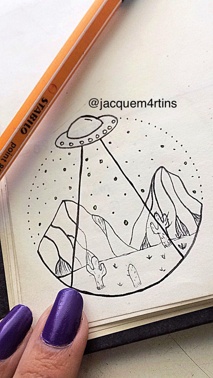 draw #alien #tumblr #stabilo #spaceship #ufo #pen #tattoo | drawing ...