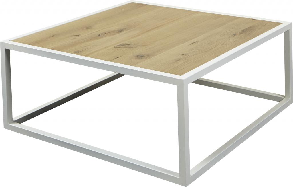Salon Tafel Wit : Salontafel diva wit structuur eiken spinder design