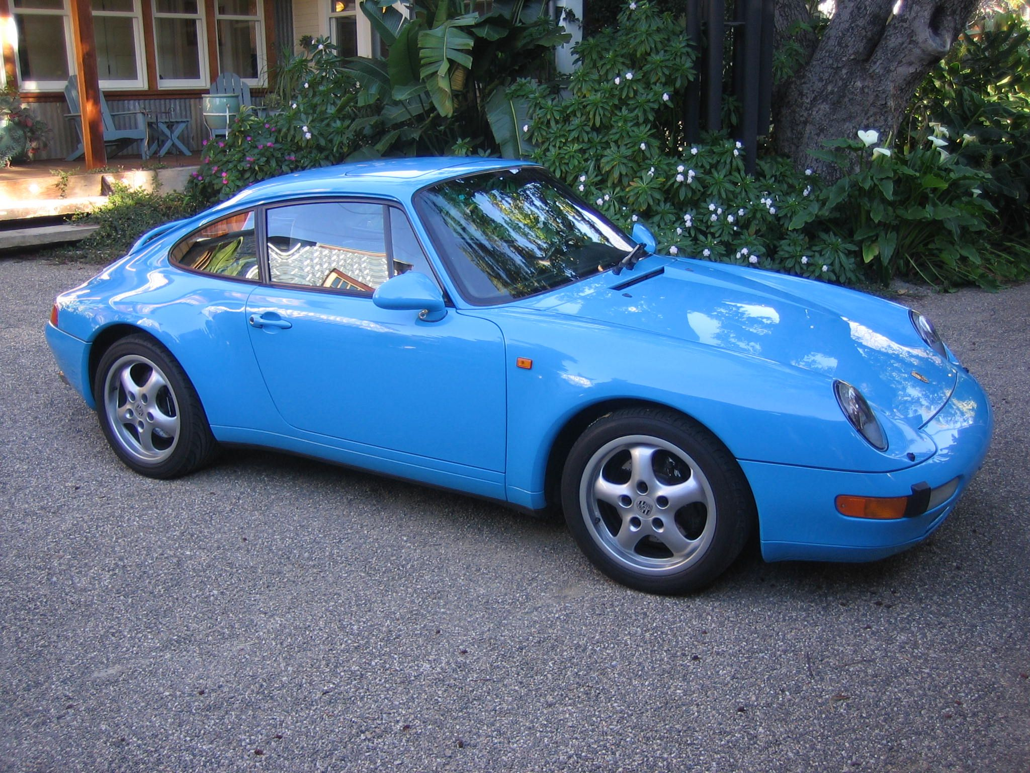 1995 Porsche 993 Riviera Blue  VIN ... 0087... one of the first 5 993's in the USA built in Jan 1994