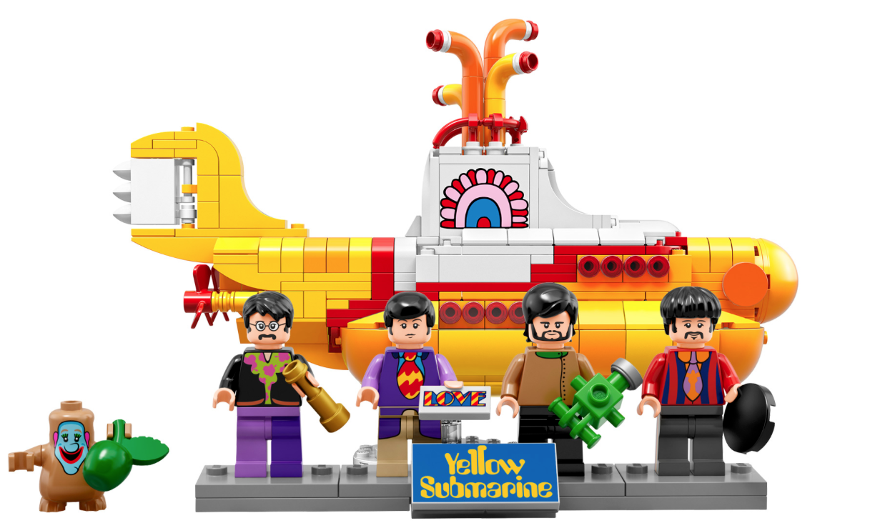 We All Live In An Official Lego Yellow Submarine Yellow