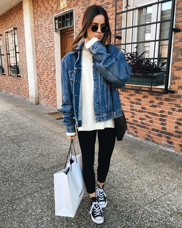 Comfortable fall fashion that looks so cool!