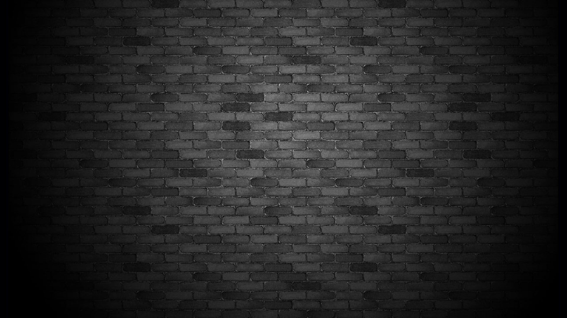 Black walls in
