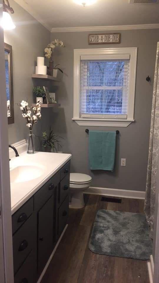 Floor Vanity And Decor Small Bathroom Remodel Bathroom Decor Grey Bathrooms