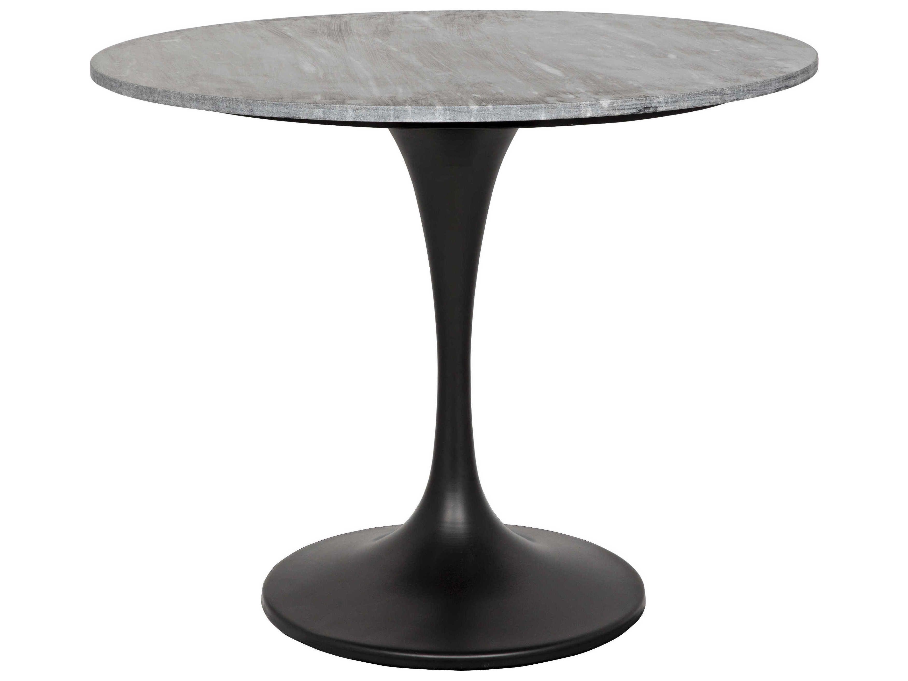 Noir Furniture Lighting Home Decor 36 Round Dining Table Round Dining Furniture Design Table