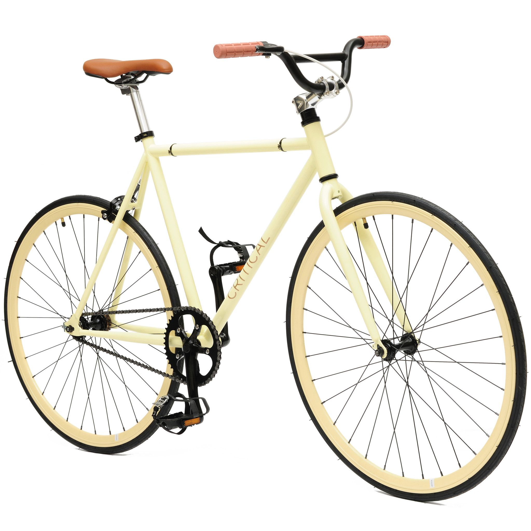 Fixed Gear Single Speed Bike With Bmx Handlebars Coveted