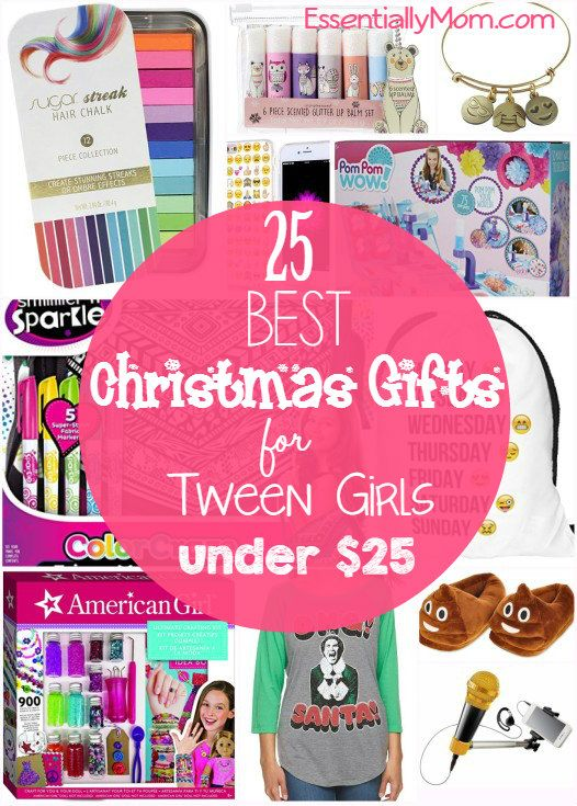 25 Christmas Gifts For Tween Girls Under 25 Tween Girl Gifts Tween Girl Christmas Gifts Tween Gifts