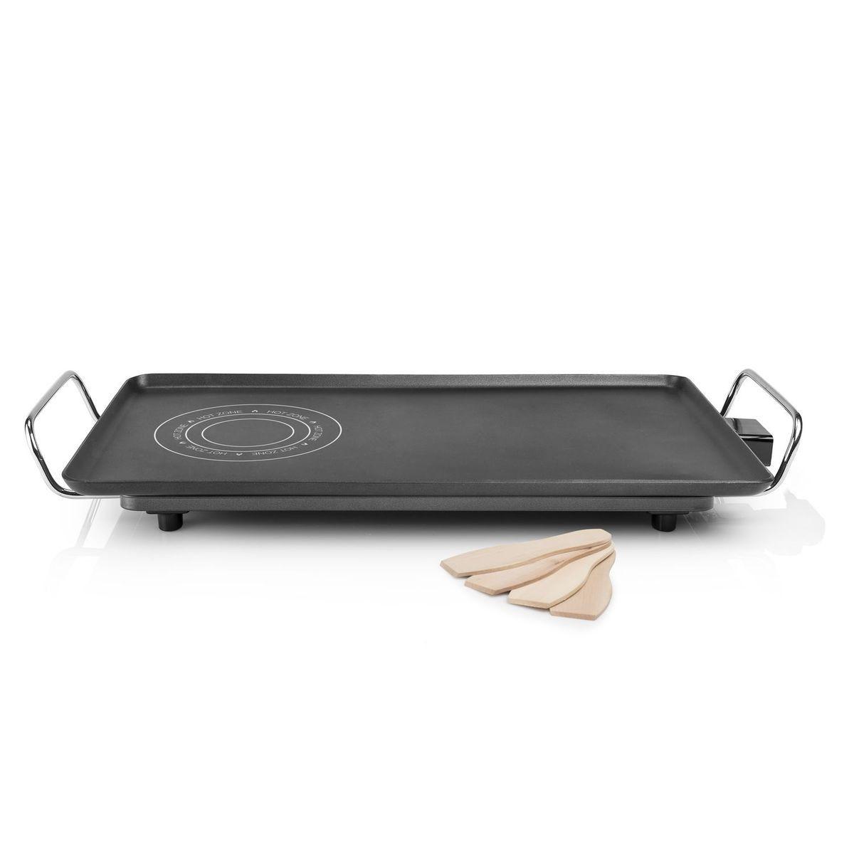 Plancha Electrique En Fonte D Aluminium Hot Zone Xxl Thermostat Reglable 60 X 36 Cm Taille Tu Plancher Fonte Et Plaque De Cuisson