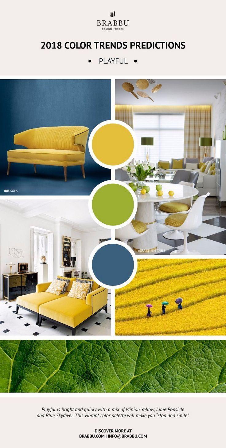 Enhance Your Home Decor With Pantoneu0027s 2018 Color Trends   Pantone,  Interiors And Color Inspiration