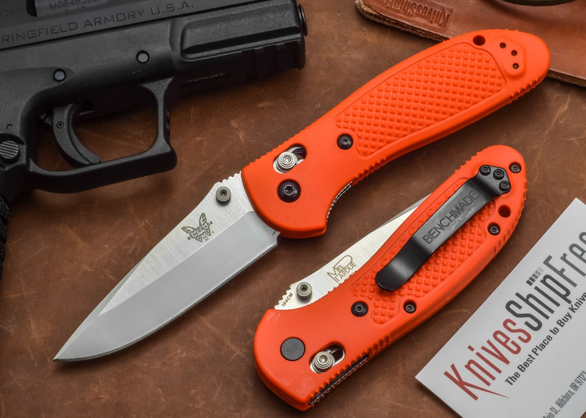 Benchmade Knives 551org Griptilian Modified Drop Point