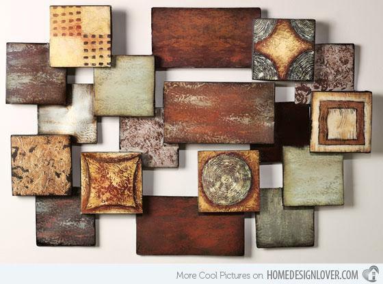 Brown Metal Wall Decor