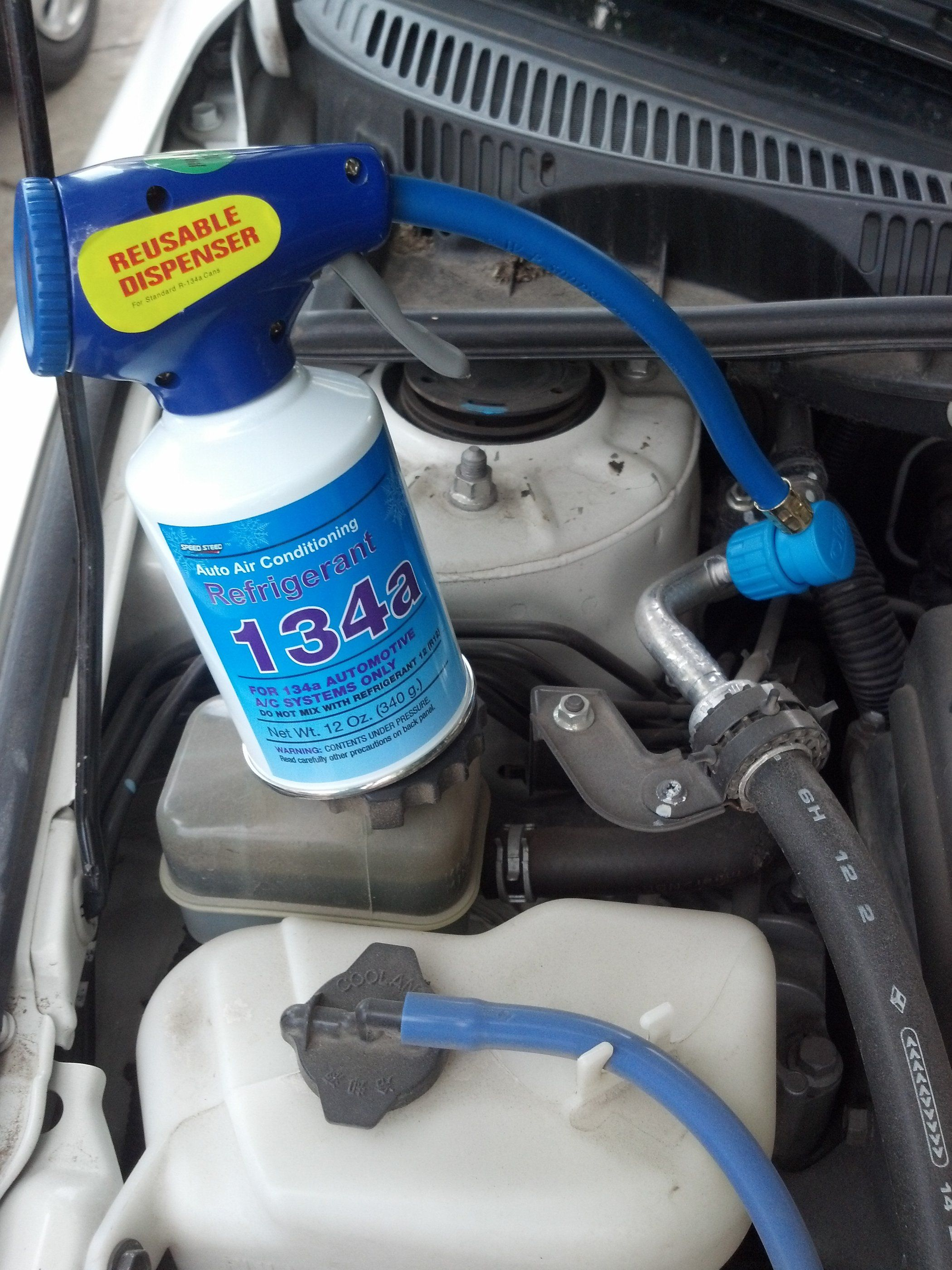 How to Recharge Your Car's Air Conditioner Truck repair