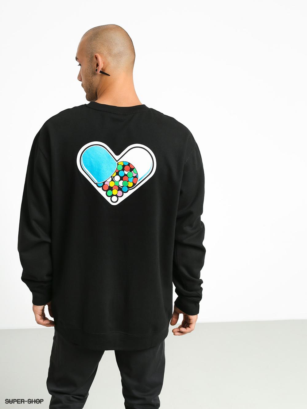 Enjoi Artsy Sweatshirt Black Sweatshirts Sweatshirts Hoodie Black Sweatshirts [ 1333 x 1000 Pixel ]