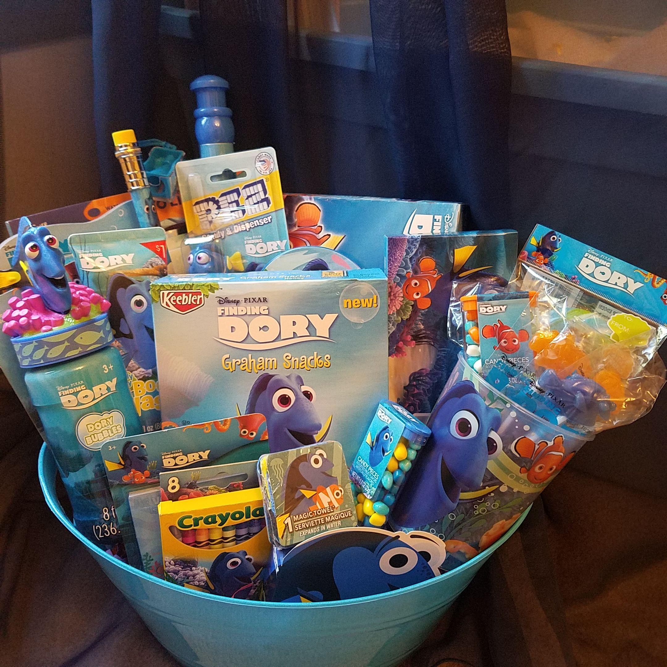 20160701193410large finding dory gift basket pinterest finding dory gift basket from connies creations negle Gallery
