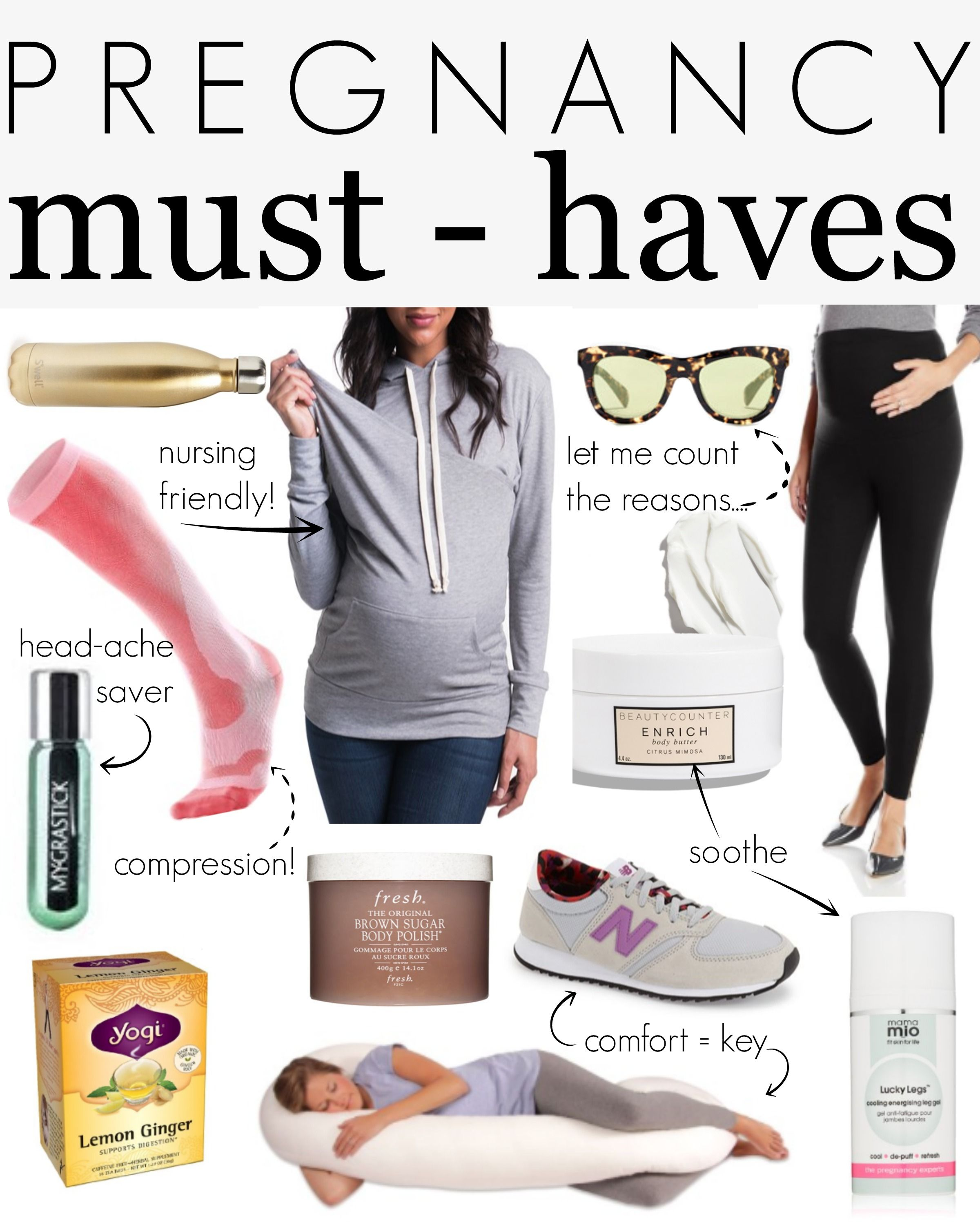4df95f5b284 Pregnancy must-haves for all moms-to-be! These are items that make pregnancy  a happier and