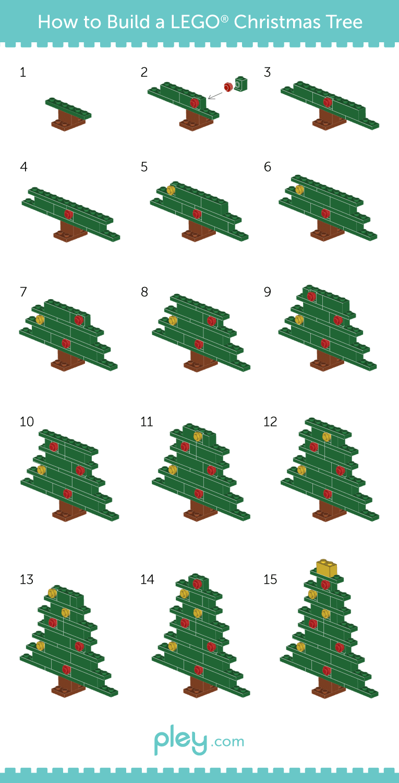 Pley reveals how to build a LEGO snowman, Christmas Tree and Santa ...