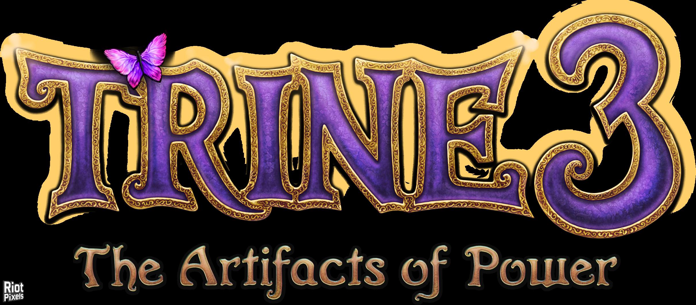 Trine 3 The Artifacts of Power Game logo, Game logo
