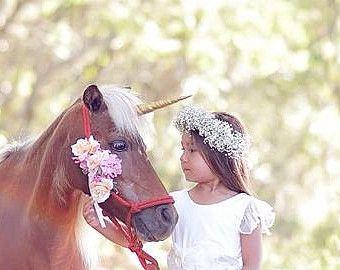 Unicorn Horn for Horse / pony unicorn horn / unicorn browband / gift for horse lover / unicorn horse costume / realistic unicorn horn