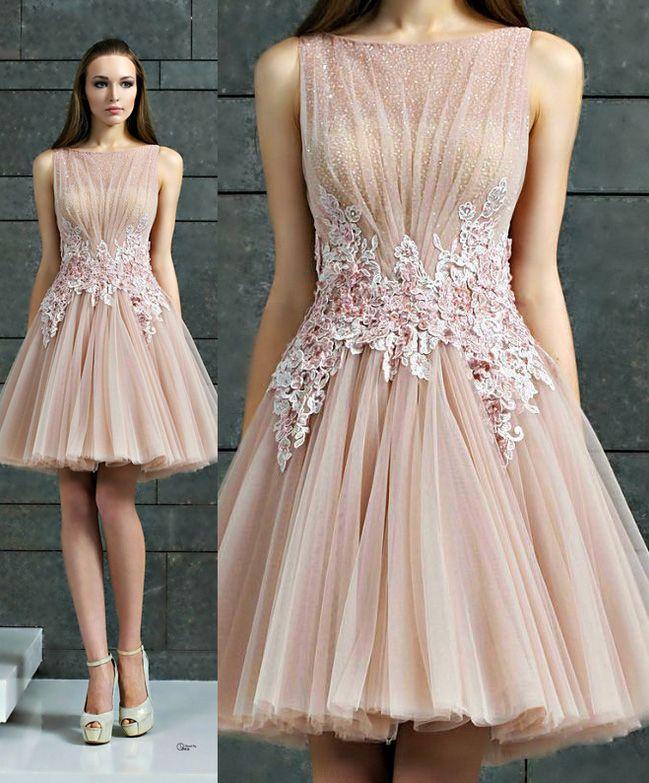 Short A-line/Princess Party Dresses