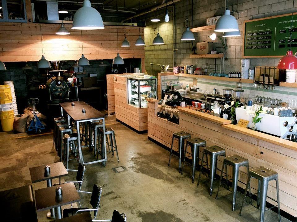 Flight Coffee Hangar interior, Cafe Interior - Dixon street, Wellington