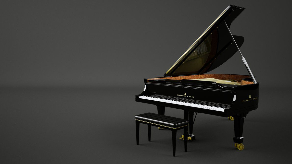 Grand Piano Keys HD Wallpaper, Background Images Piano