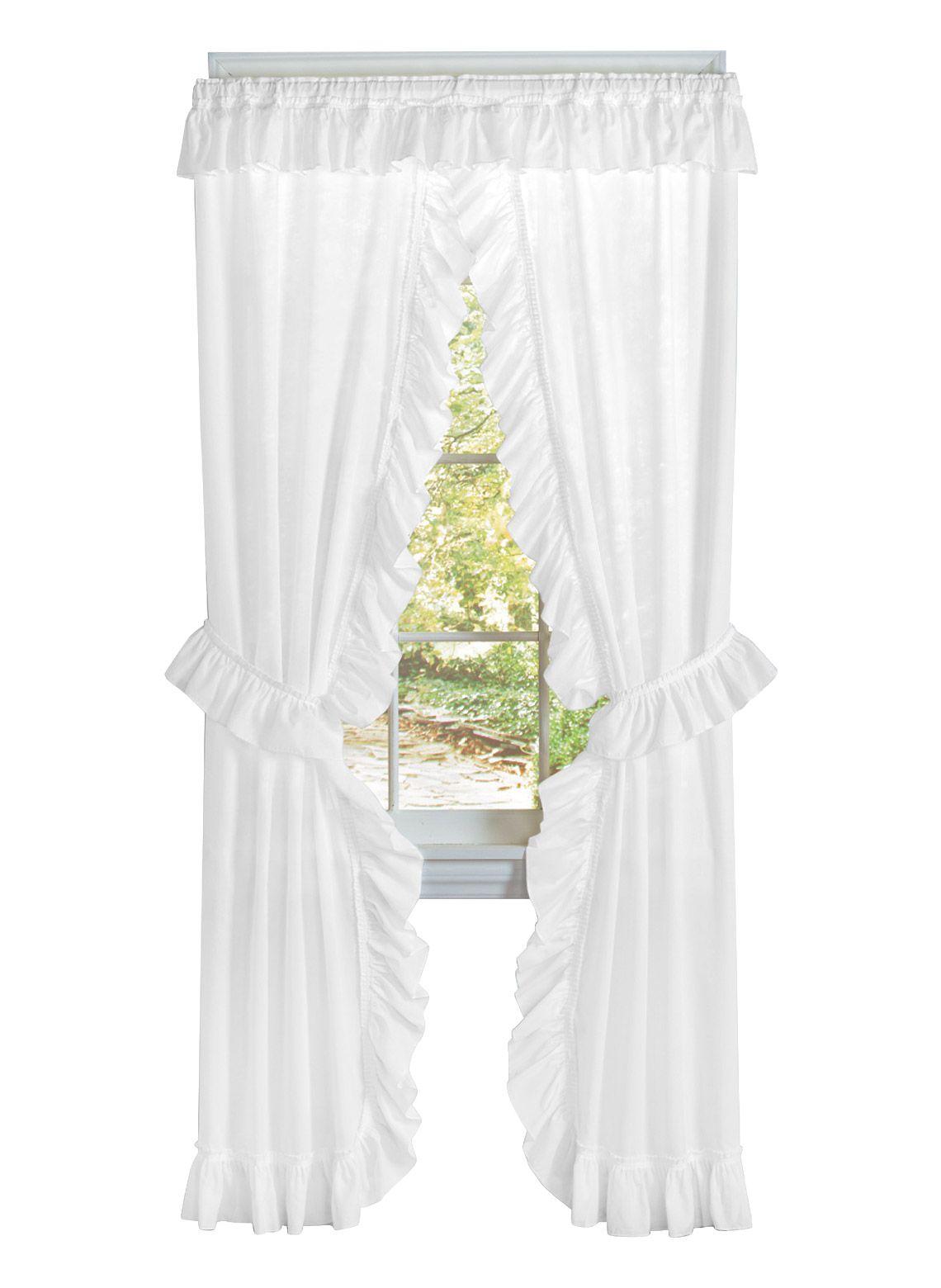 Ruffled Priscilla Curtain Set Carolwrightgifts Com Priscilla