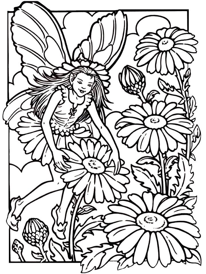 free fairy coloring pages. pinterest - rubixinc.us