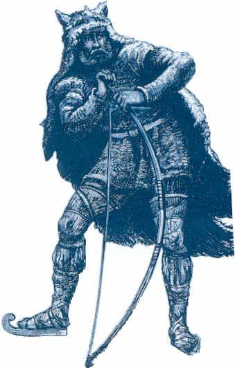 Ull Archer God Of Winter Archers Norse Mythology Mythology