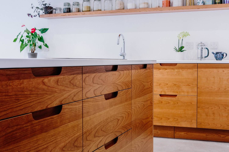 birch drawers london handmade shaker kitchen modern design rh pinterest com