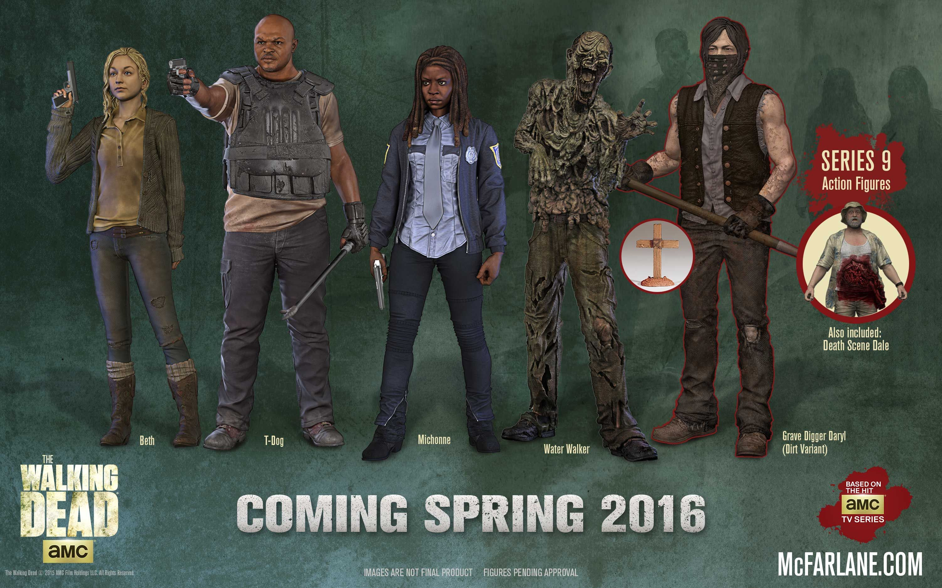 Mcfarlane Reveals The Walking Dead Tv Series 9 Line Up