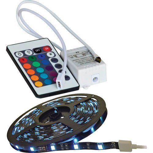 Calrad 92 301 Rgb R Rgb 300 Light 3 Chip Led Strip With Lighting Control Module By Calrad 142 99 Rgb 300 Light 3 Chip Led Tape Lighting Tape Lights Led Tape