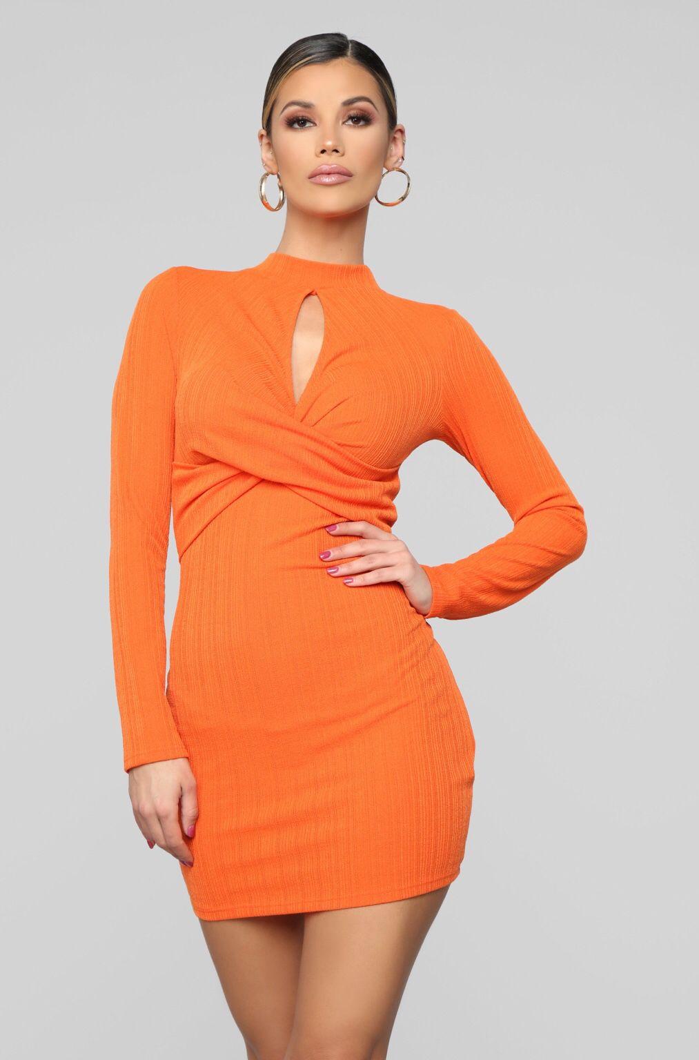Touches My Soul Sweater Mini Dress Orange Mini Dress Mini Sweater Dress Fashion [ 1536 x 1013 Pixel ]