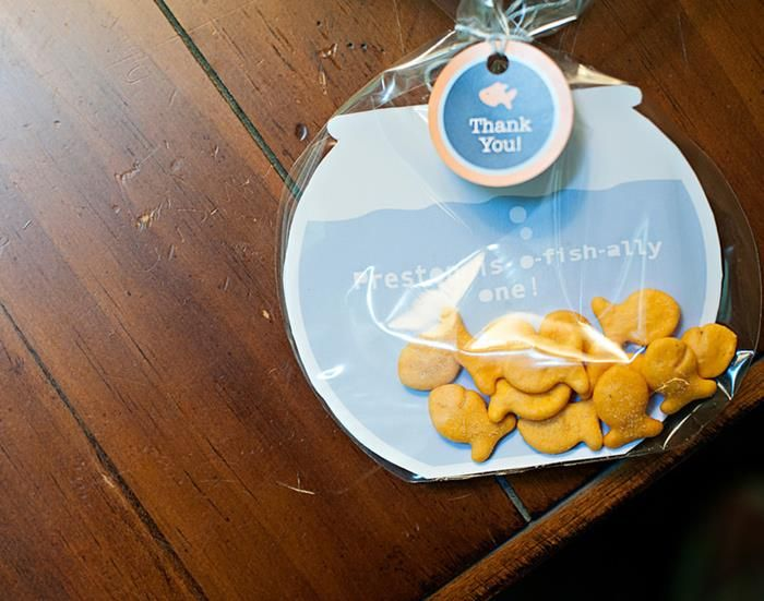 Goldfish Fishing 1st Birthday Party Planning Ideas Supplies Idea