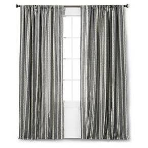 Edison Curtain Panel The Industrial Shop Target Curtains