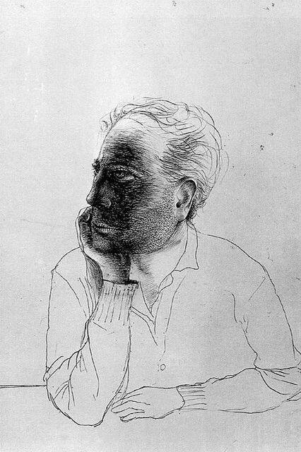 Antoni Tapies - Self Portrait (1946)