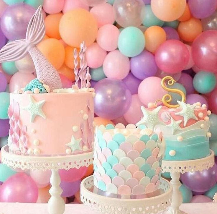 Mermaid & Under The Sea Themed Cakes