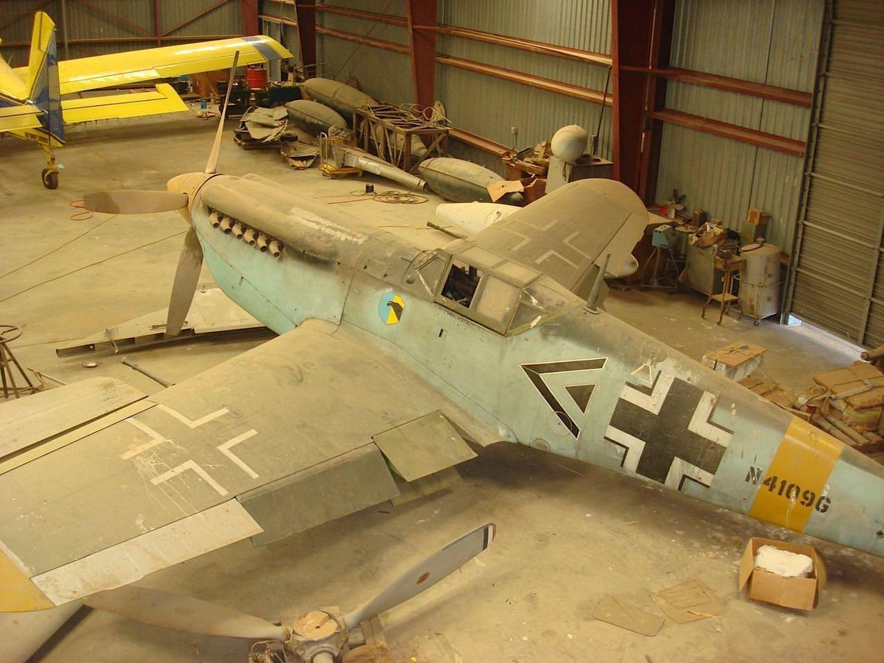 Messerschmitt BF 109 - Silodrome