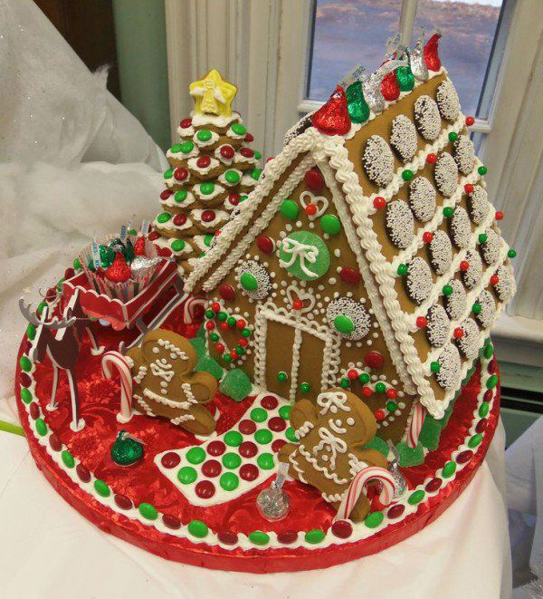 House Decorating Christmas: Gingerbread House Decorating Ideas