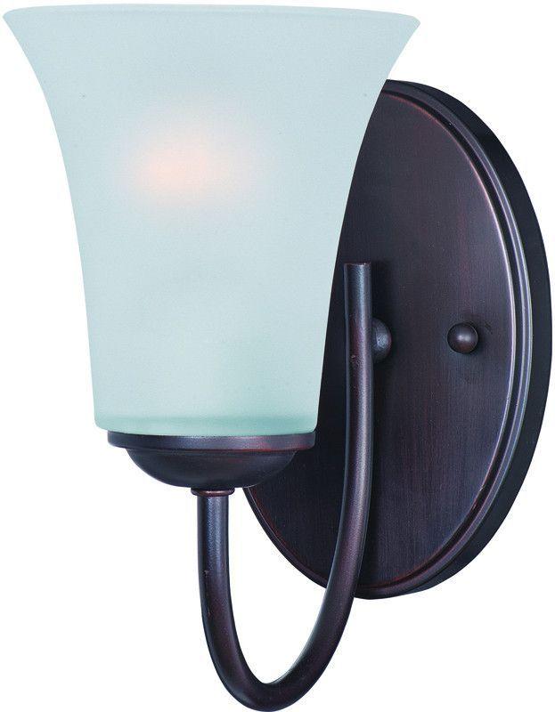 Maxim Lighting 10051FTOI Logan 1-Light Wall Sconce