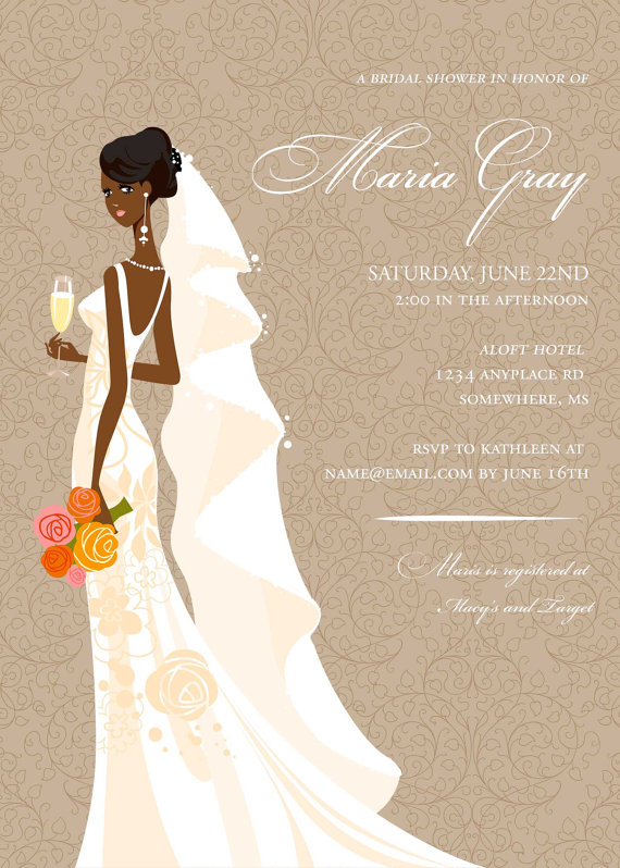 elegant african american bridal shower by diconshadesigns on etsy is it possible to do on