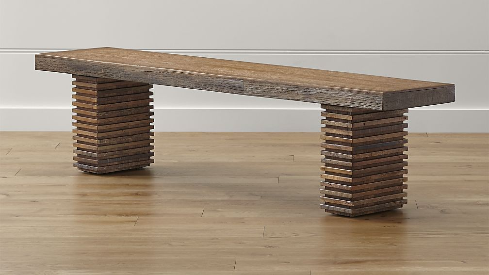 Paloma Ii Reclaimed Wood Bench Wooden Bench Wood Bench Wooden Bench Diy