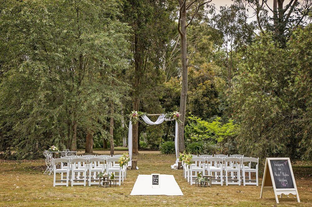 Venue Iris Park Mornington Peninsula Ceremony Only Wedding