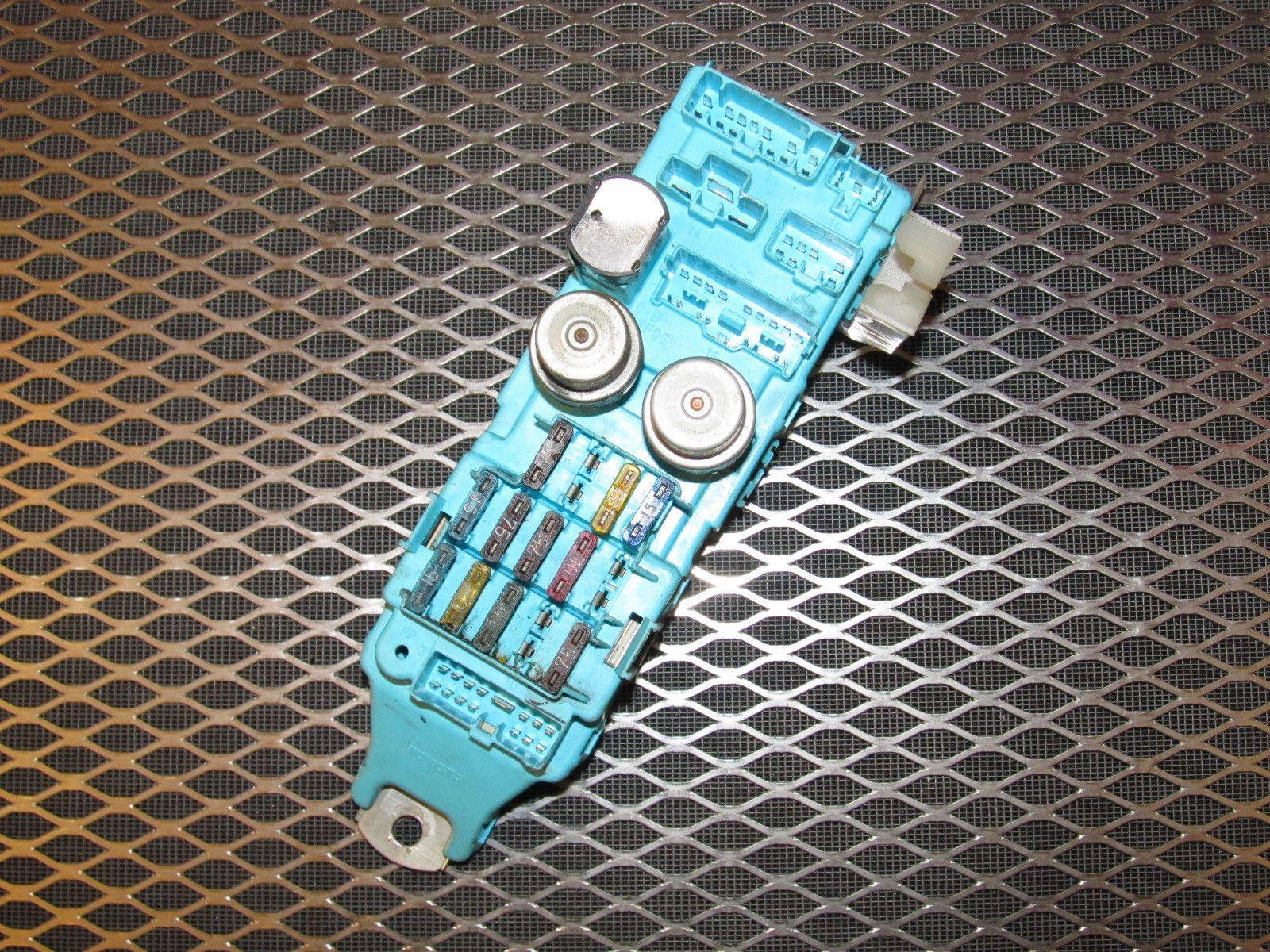 hight resolution of 89 90 91 92 toyota supra oem interior fuse box