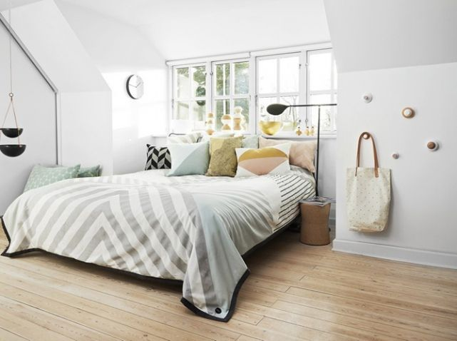 chambre scandinave chambres parents pinterest chambre scandinave chambres et chambre tendance. Black Bedroom Furniture Sets. Home Design Ideas